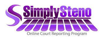 SimplySteno Court Reporting Online